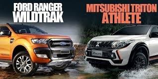 So sánh Ford Ranger 2019 và Mitsubishi Triton 2019