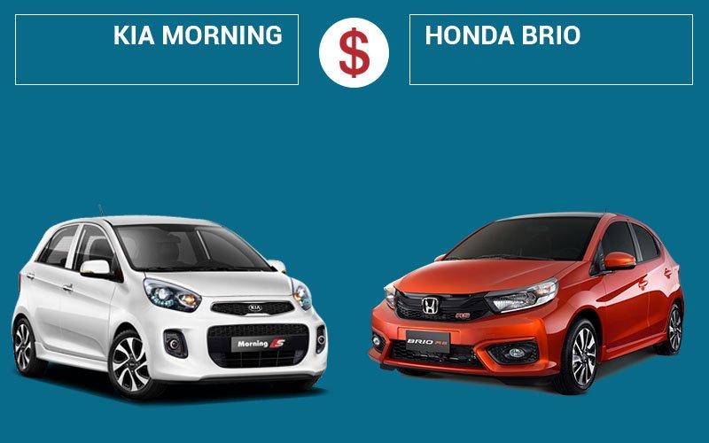 So sánh xe Kia Morning với Honda Brio 2019
