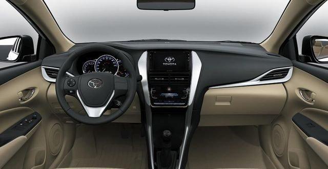 Nội thất xe Toyota Vios 2019