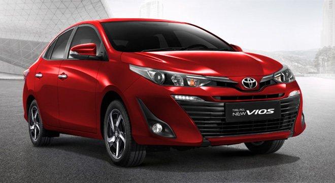 Giá xe Toyota Vios 2019 cũ