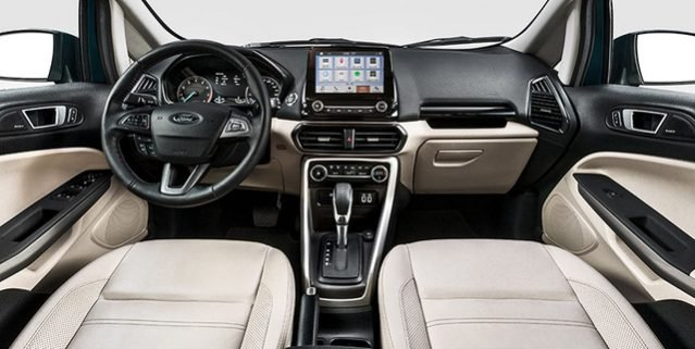 Nội thất xe Ford EcoSport 2019