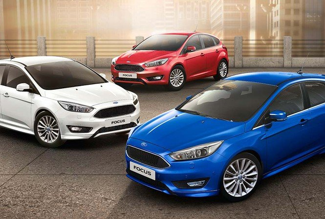Ngoại thất xe Ford Focus 2019