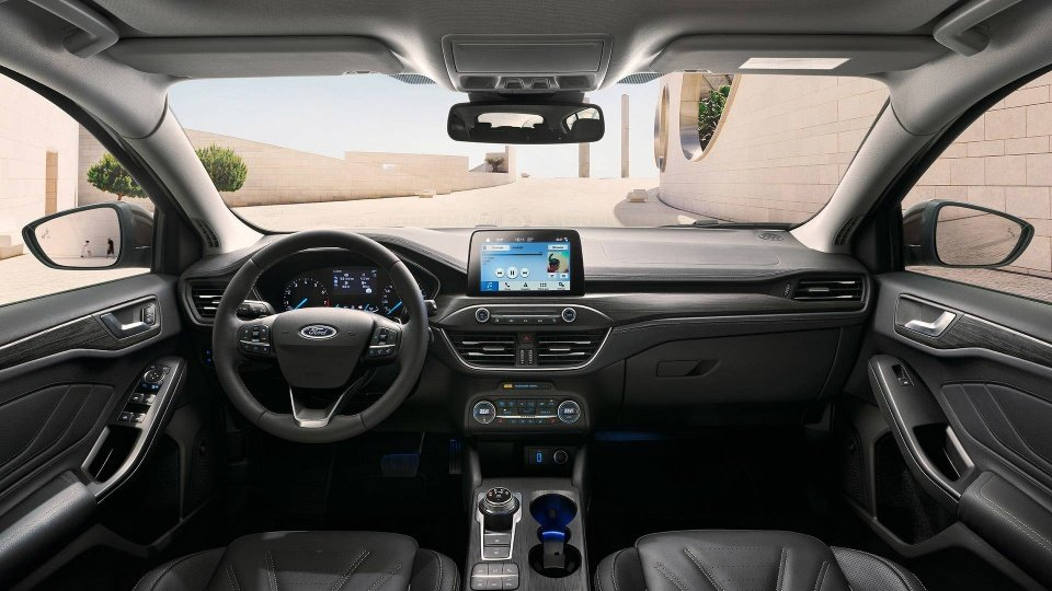 Nội thất xe Ford Focus 2019