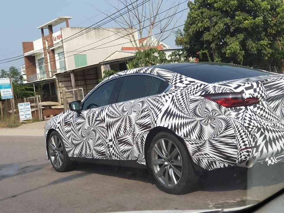 Đối thủ Toyota Camry, Mazda 6 2020 chạy thử ở Việt Nam, đã có thời gian dự kiến ra mắt