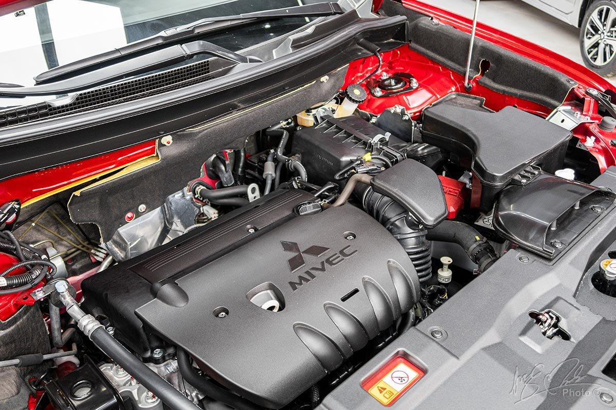 Đánh giá xe Mitsubishi Outlander 2.0 CVT Premium 2020: Động cơ 2.0 MIVEC không đổi.