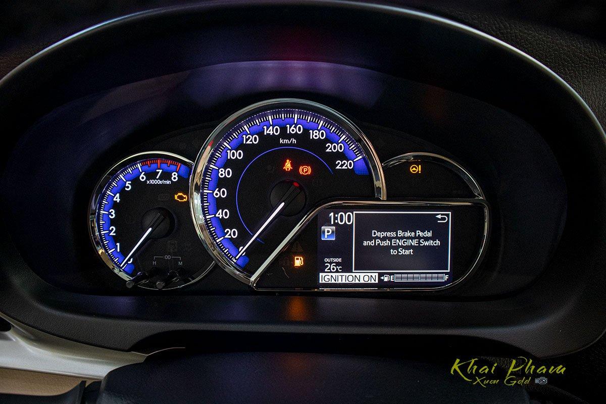 Ảnh chụp Đồng hồ xe Toyota Vios 2020