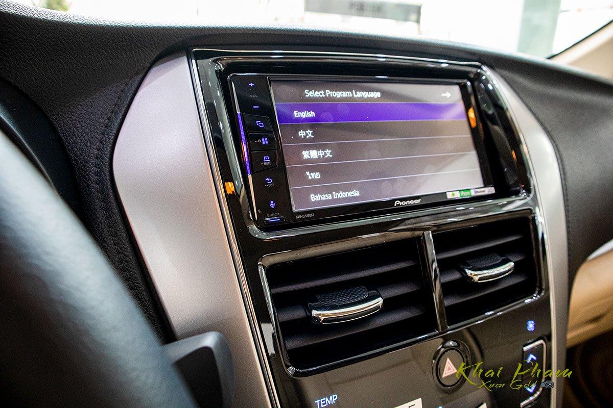 Ảnh chụp Màn hình xe Toyota Vios 2020
