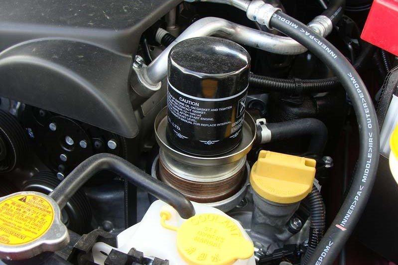 Thay dầu cốc lọc ô tô 1