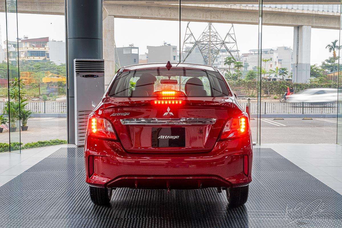 Thiết kế đuôi xe Mitsubishi Attrage 2020 1