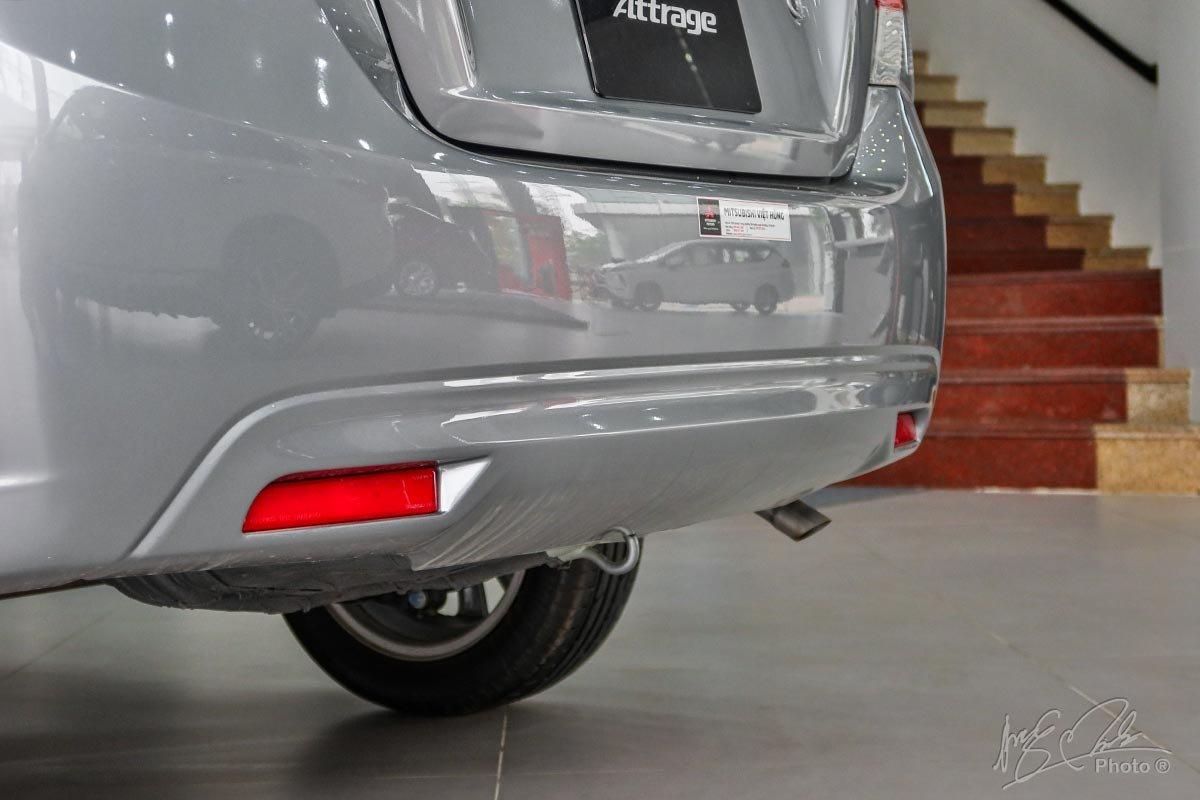 Cản sau của Mitsubishi Attrage 2019.