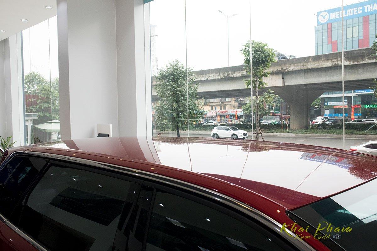 Ảnh chụp giá nóc xe Peugeot 5008 2020