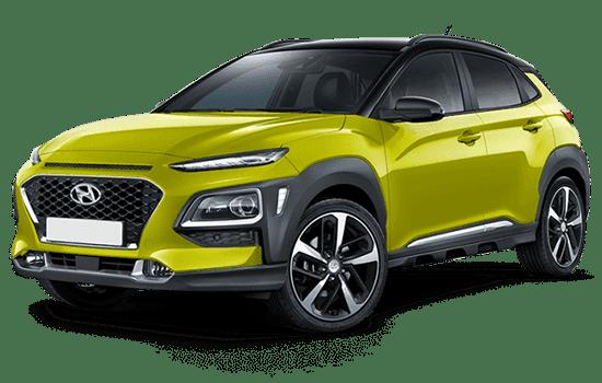 Ngoại thất xe Hyundai Kona 2020
