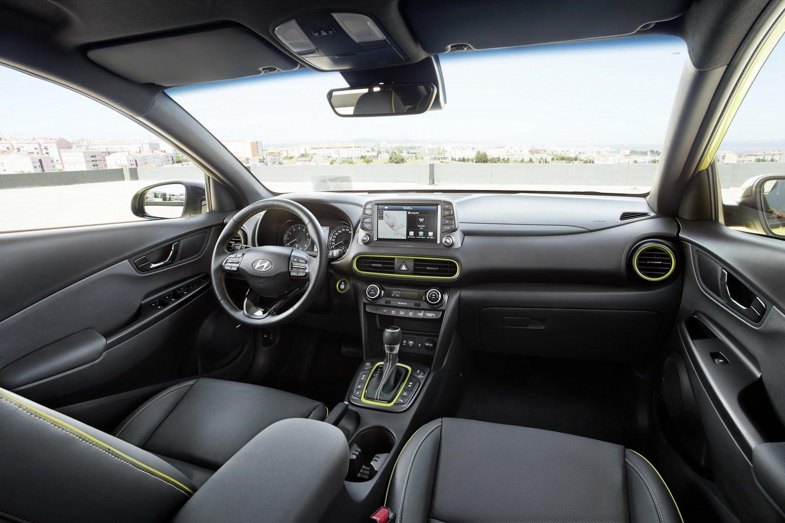 Nội thất xe Hyundai Kona 2020
