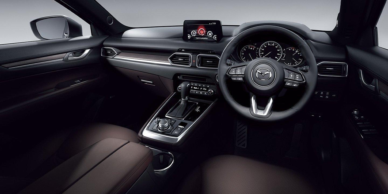 Nội thất xe Mazda CX-8 2020