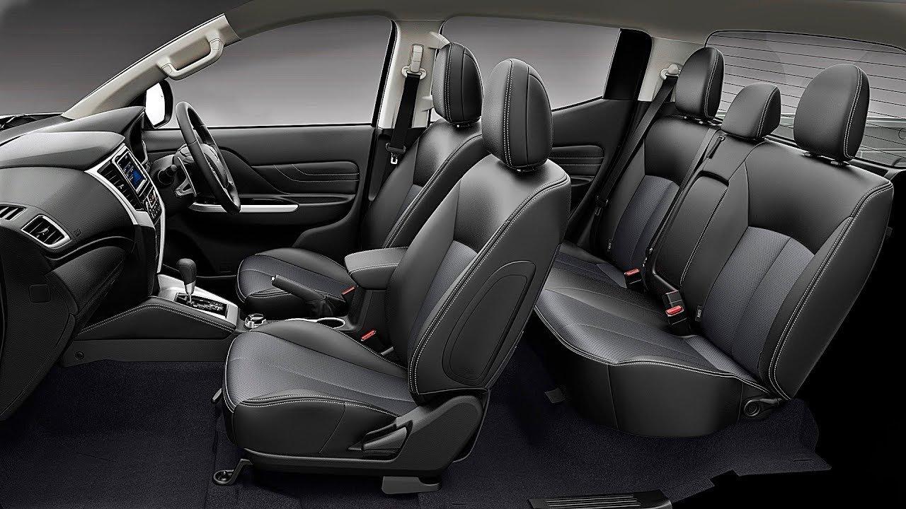 Nội thất xe Mitsubishi Triton 2020