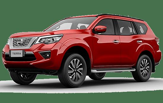 Ngoại thất xe Nissan Terra 2020