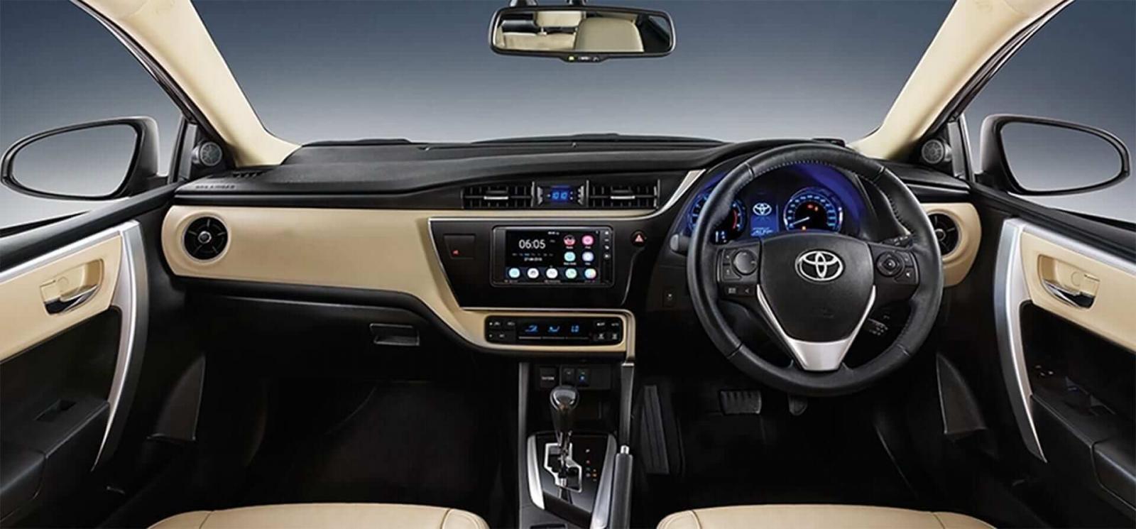 Nội thất xe Toyota Corolla Altis cũ