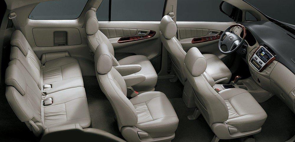 Nội thất xe Toyota Innova 2019