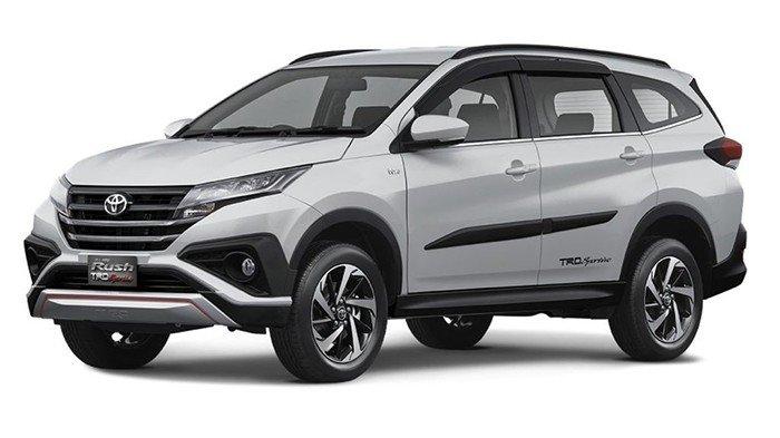 Ngoại thất xe Toyota Rush 2019