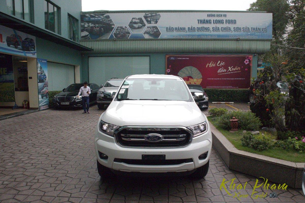 Ảnh chụp đầu xe Ford Ranger Limited 2020