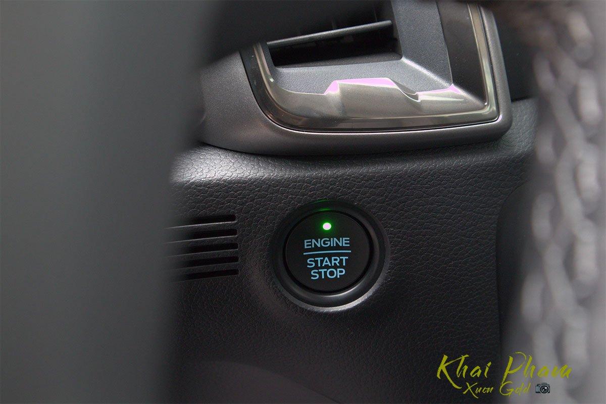 Ảnh chụp nút bấm xe Ford Ranger Limited 2020