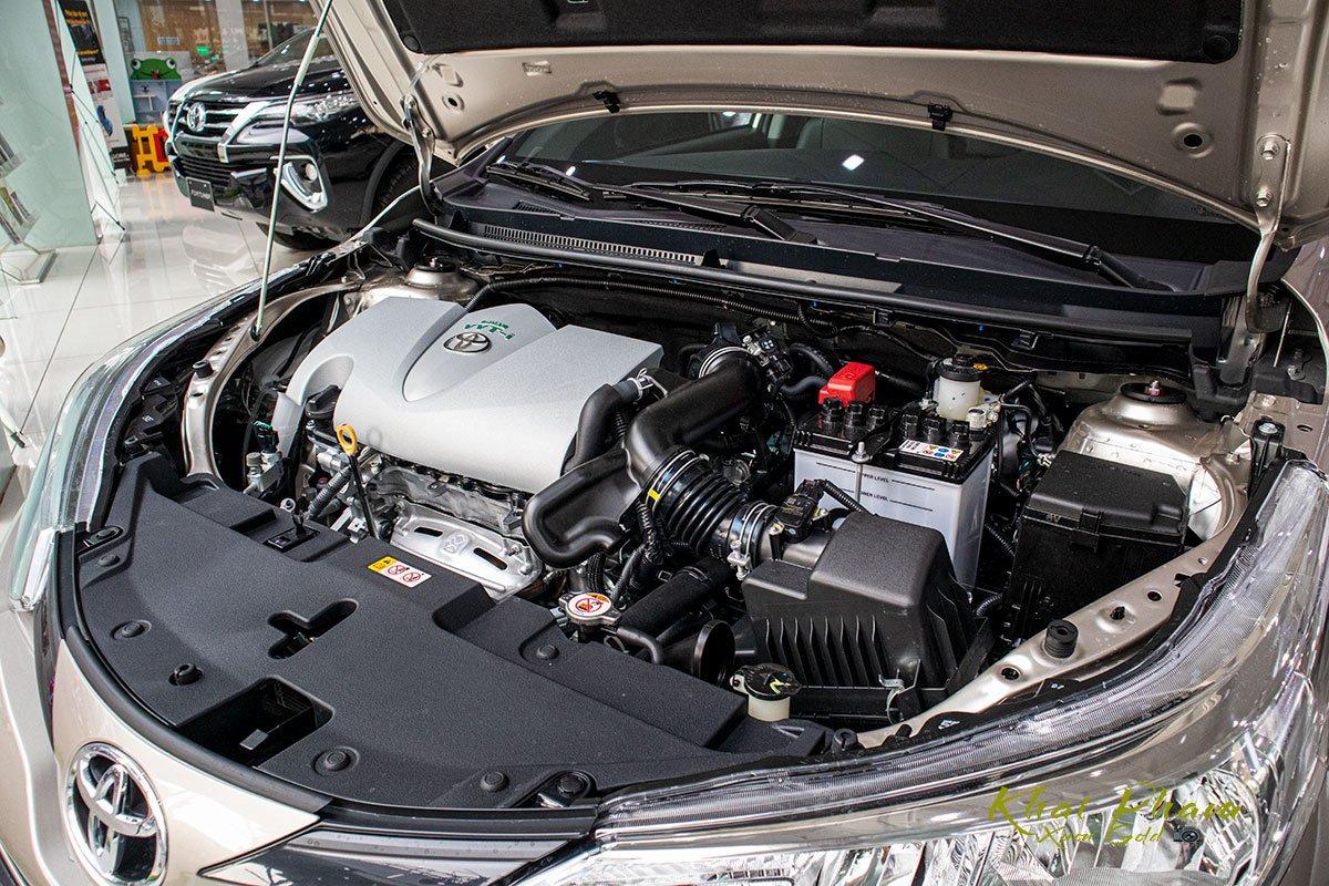 Ảnh chụp động cơ xe Toyota Vios 2020