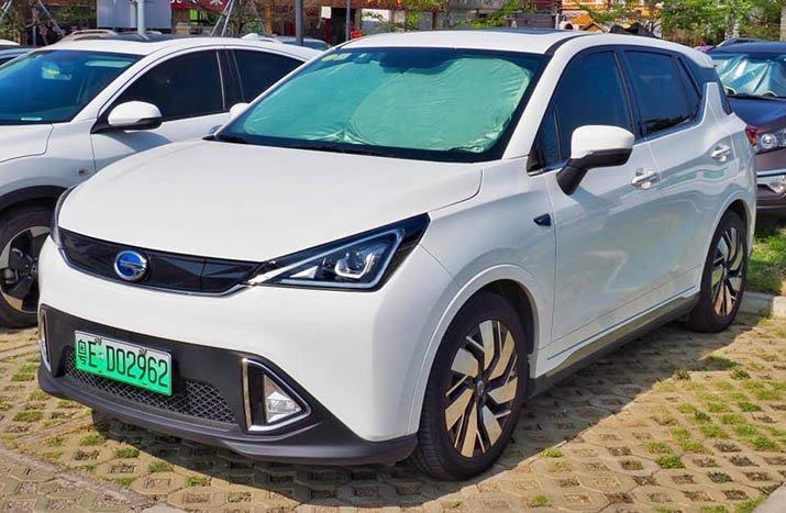 Mẫu xe của Trung Quốc tên là Trumpchi GE3.