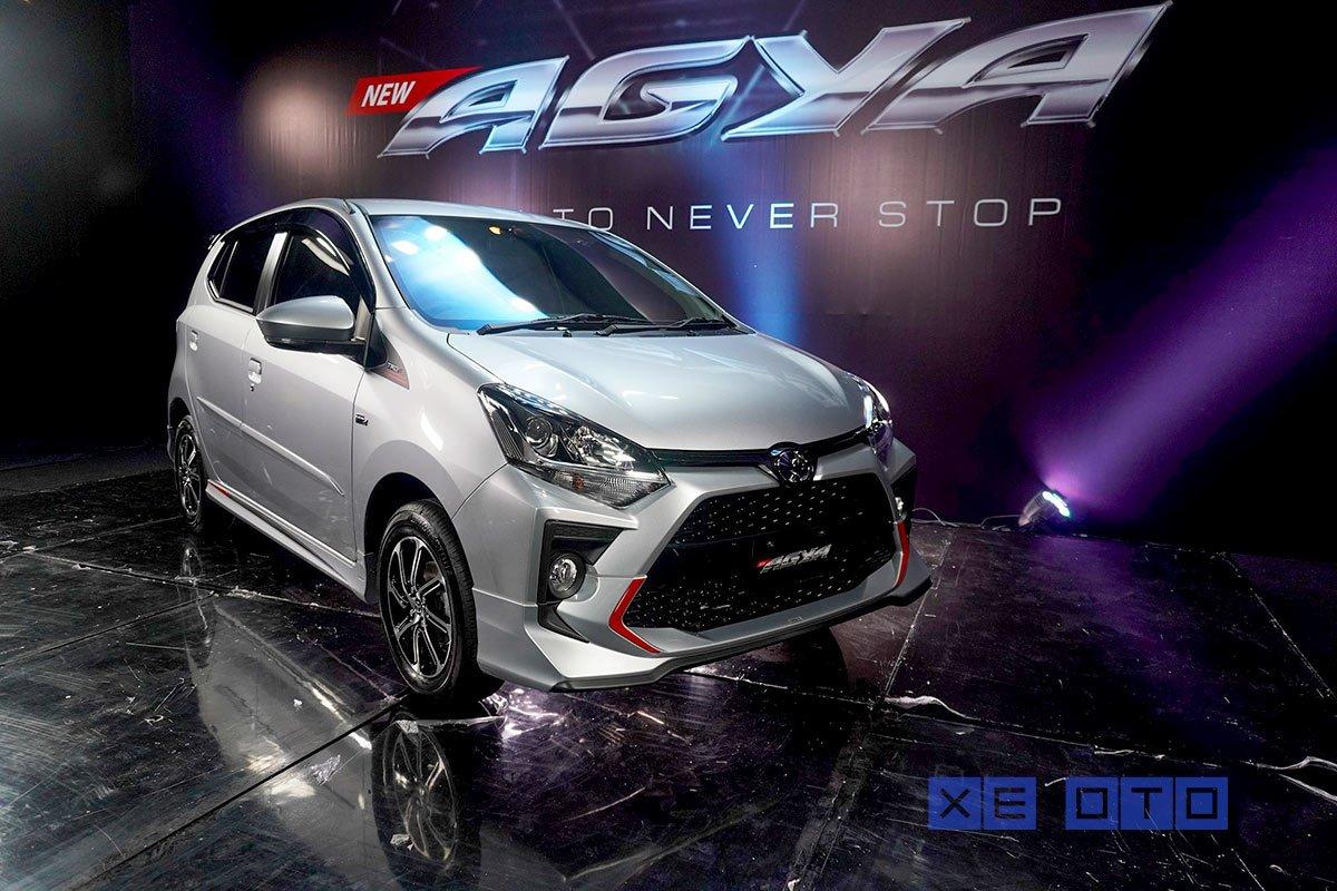 Toyota Wigo 2020 chính thức ra mắt tại Indonesia giá từ 210 triệu đồng