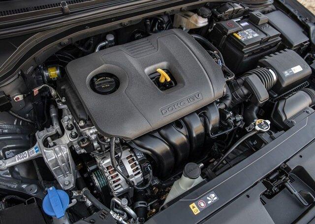 Động cơ xe Hyundai Elantra 2020