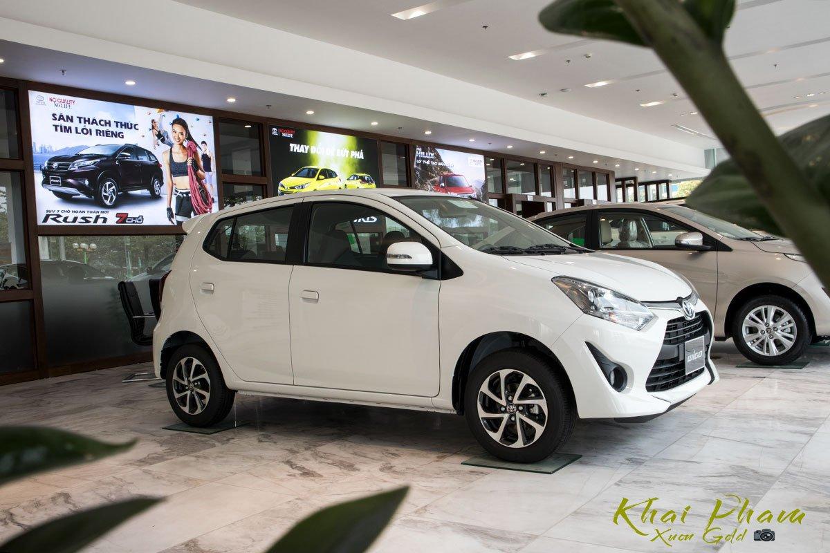 Ngắm bộ ảnh chi tiết xe Toyota Wigo MT tại Việt Nam