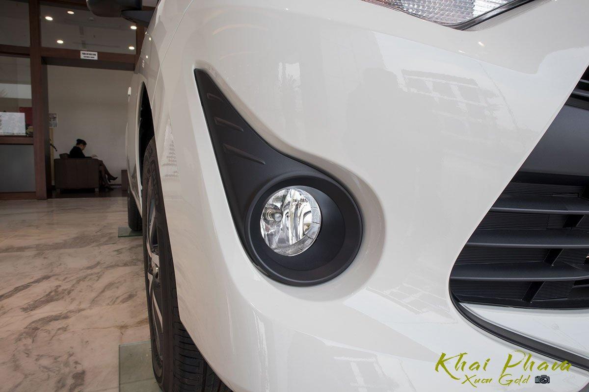 Ảnh chụp đèn sương mù xe Toyota Wigo 2020