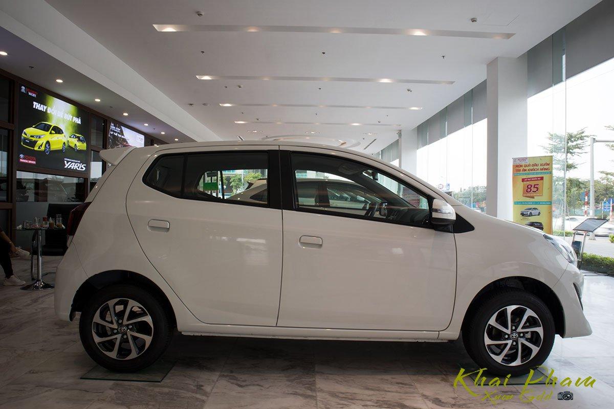 Ảnh chụp thân xe Toyota Wigo 2020