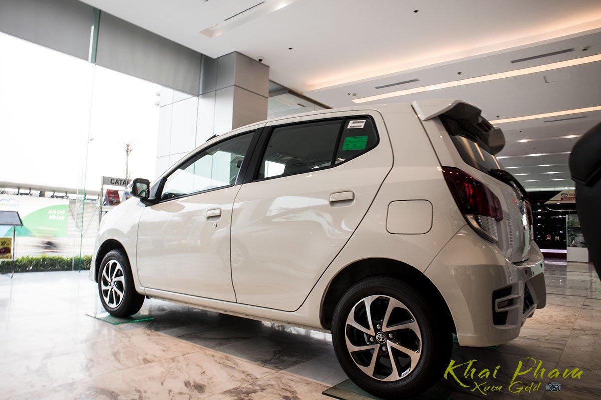 Ảnh chụp đuôi xe Toyota Wigo 2020