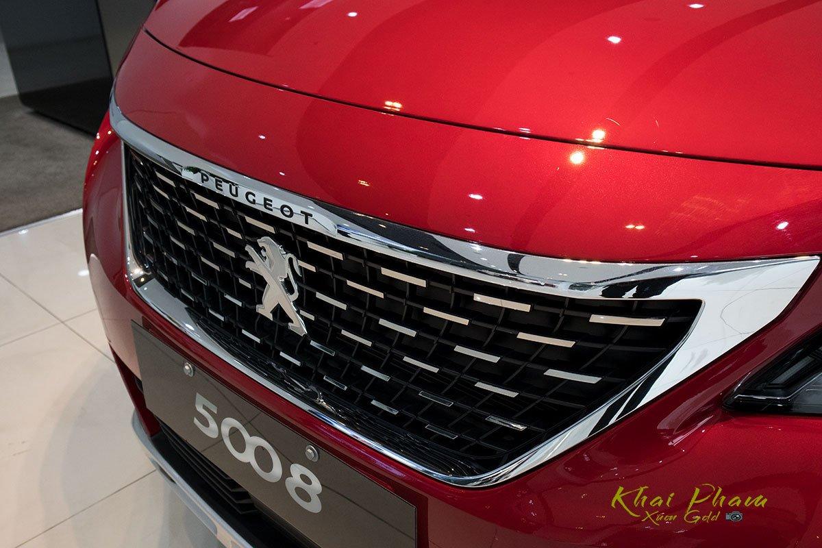 Ảnh chụp cụm Lưới tản nhiệt xe Peugeot 5008 2020