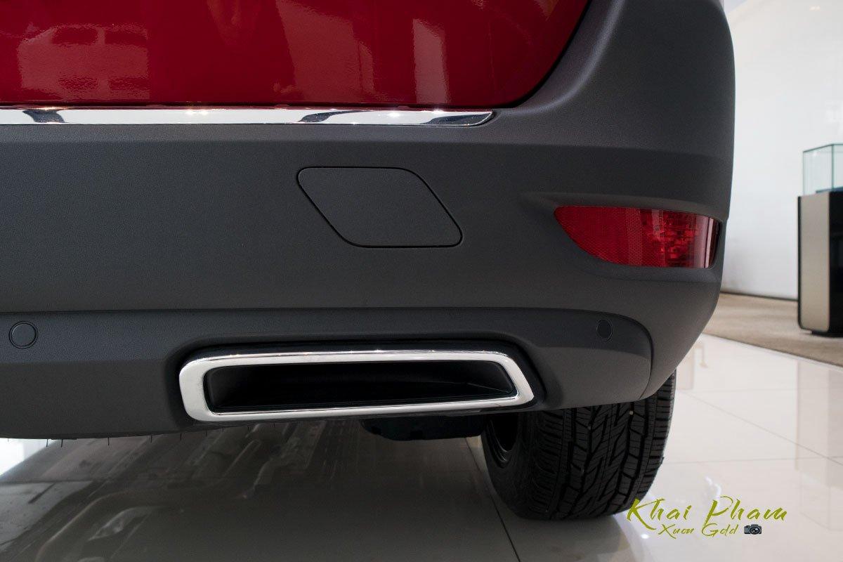 Ảnh chụp ống xả xe Peugeot 5008 2020