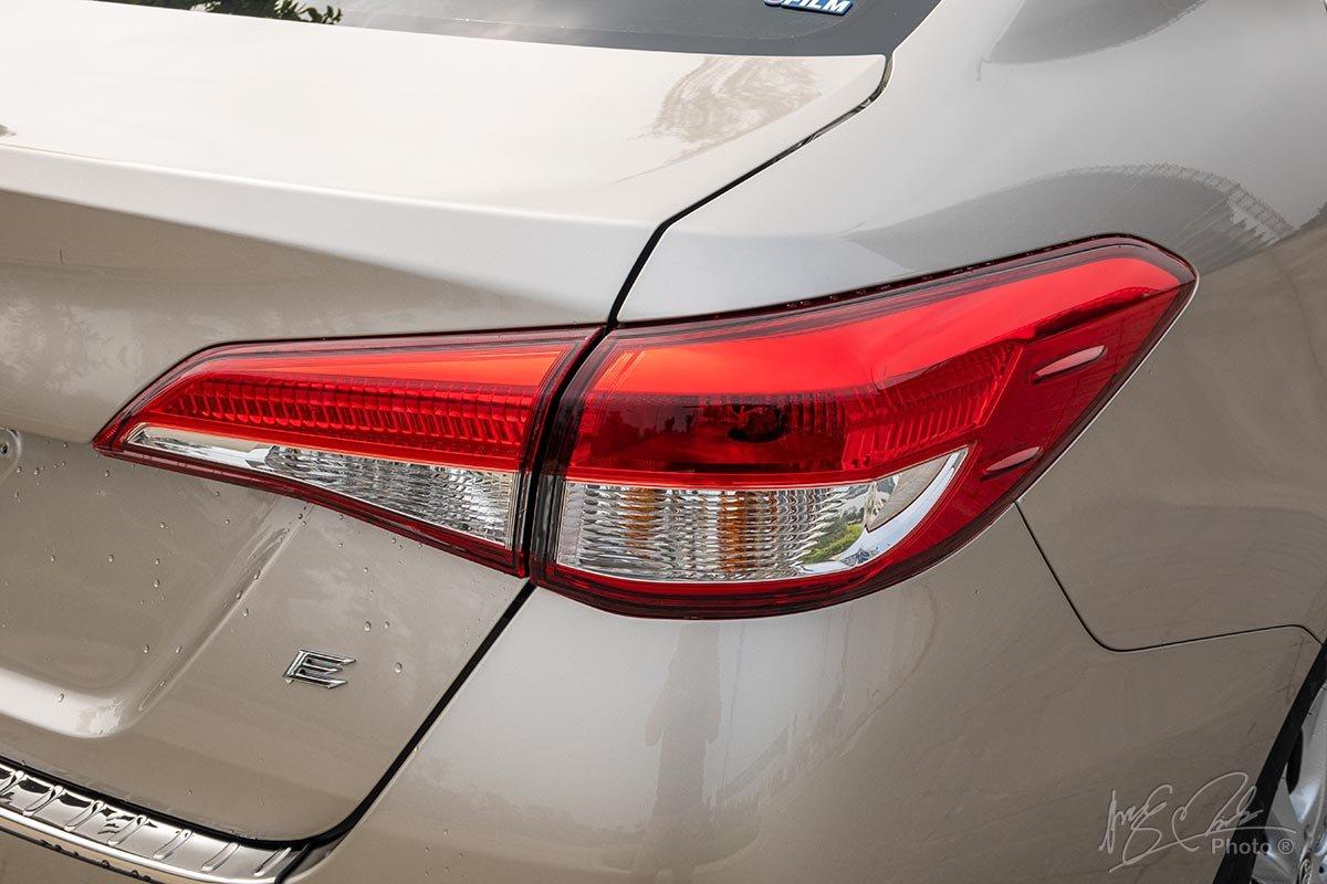 Ảnh chụp đèn hậu xe Đuôi xe Toyota Vios 2020