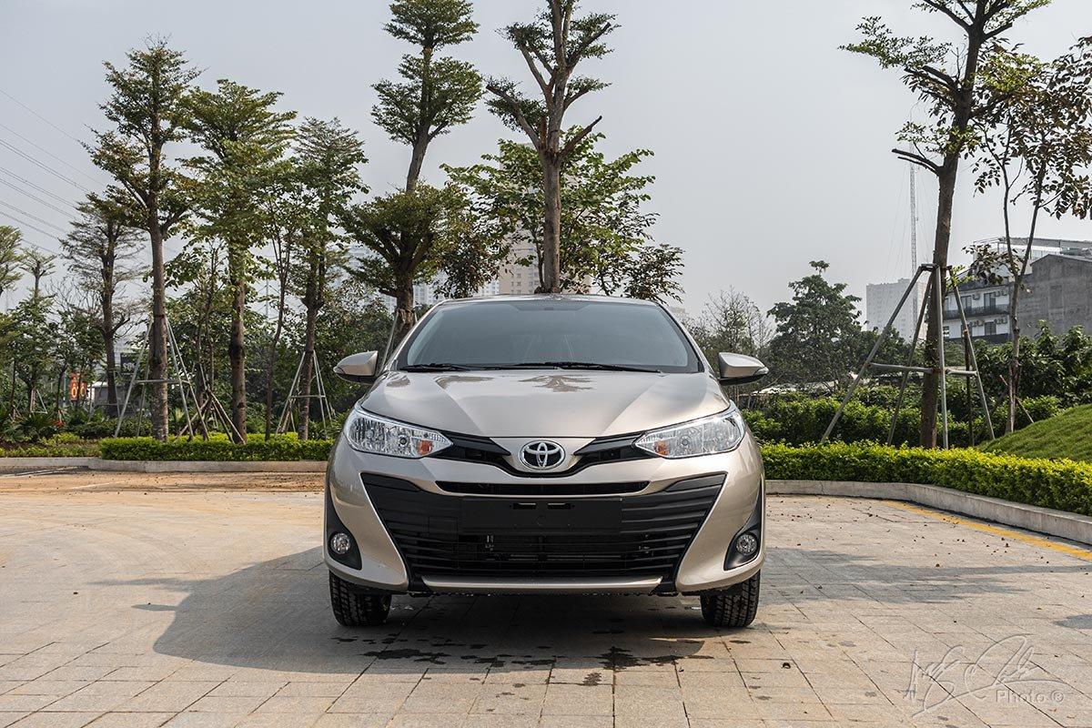 Ảnh chụp đầu xe Toyota Vios 2020