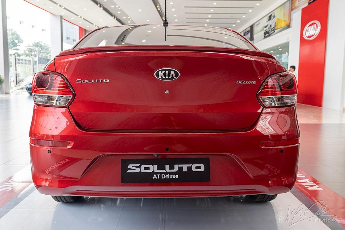 Thiết kế đuôi xe Kia Soluto 2019 1.