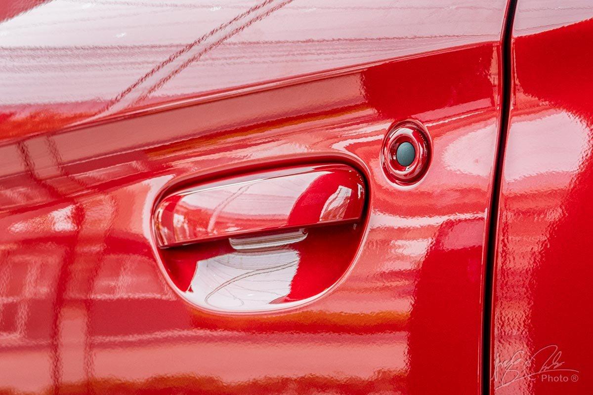 Tay nắm cửa của Mitsubishi Attrage 2020.