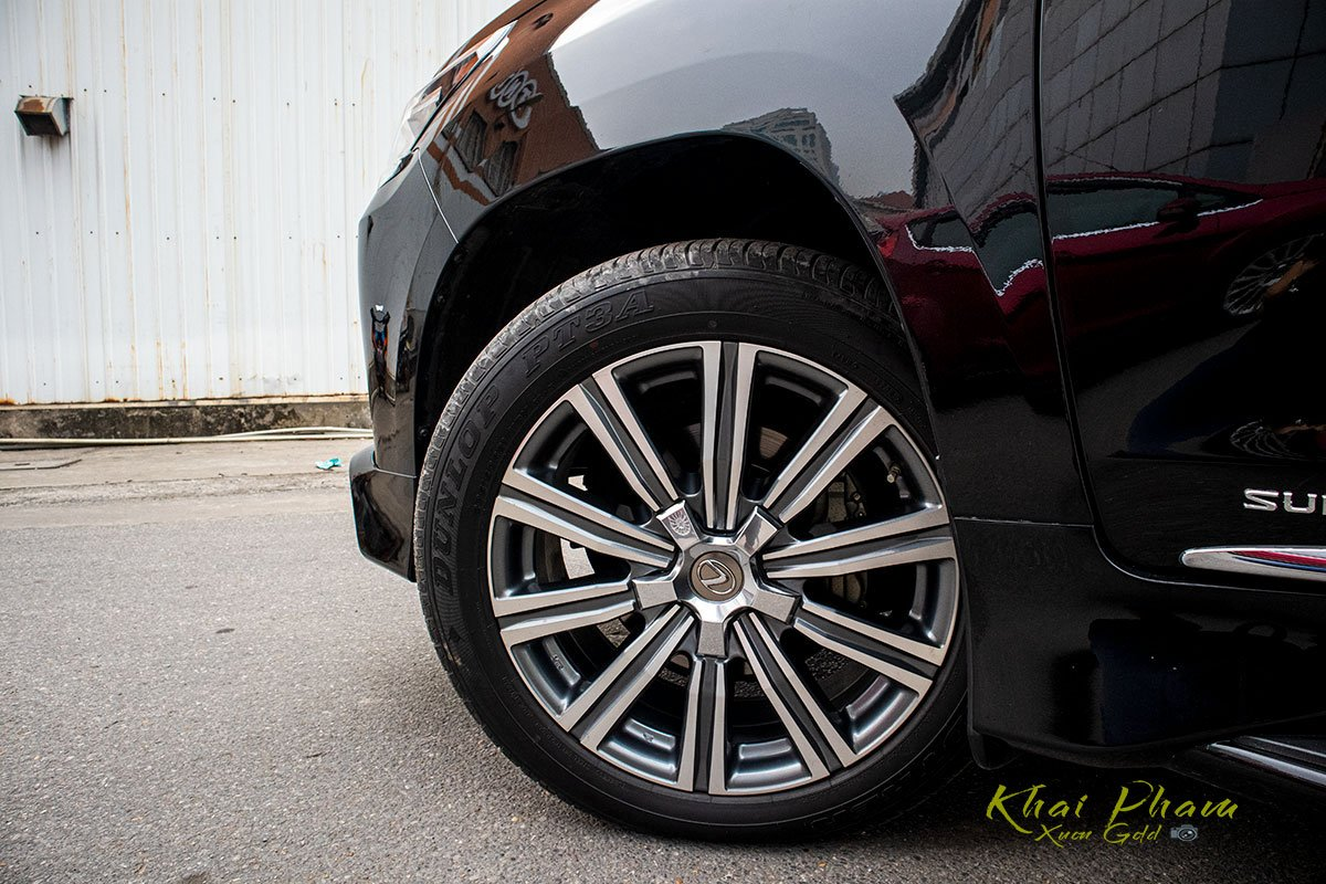 Ảnh chụp mâm xe Lexus LX570 Super Sport 2020 1