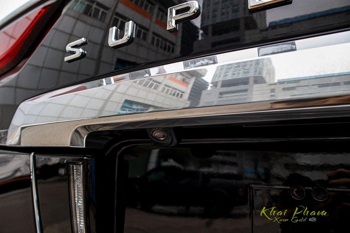 Ảnh chụp camera lùi xe Lexus LX570 Super Sport 2020