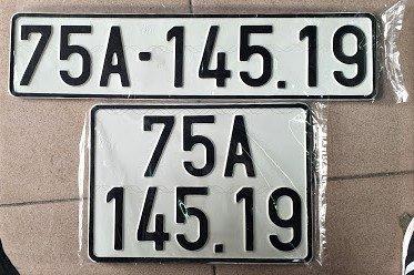 Biển số xe dài và ngắn của ô tô 1