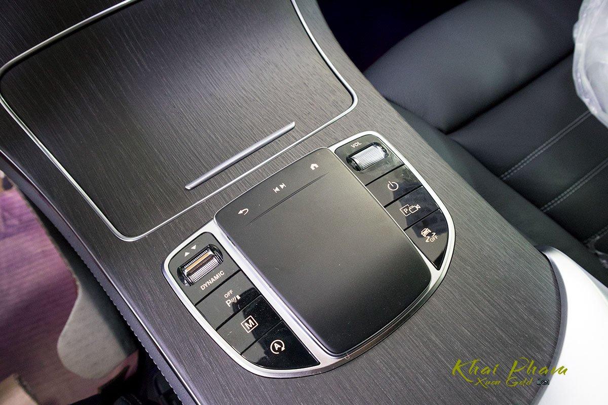 Ảnh chụp nút bấm xe Mercedes-Benz GLC 300 Coupe 2020 ff