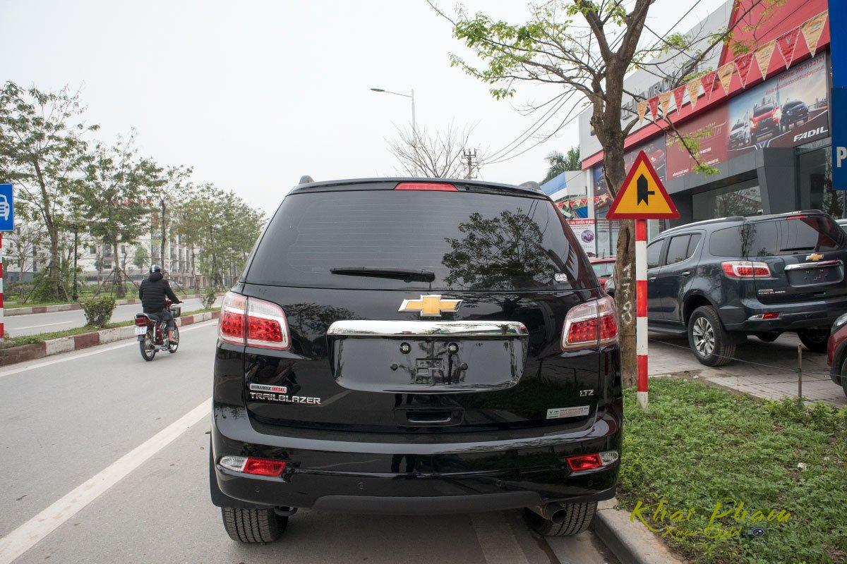 Ảnh chụp đuôi xe Chevrolet Trailblazer