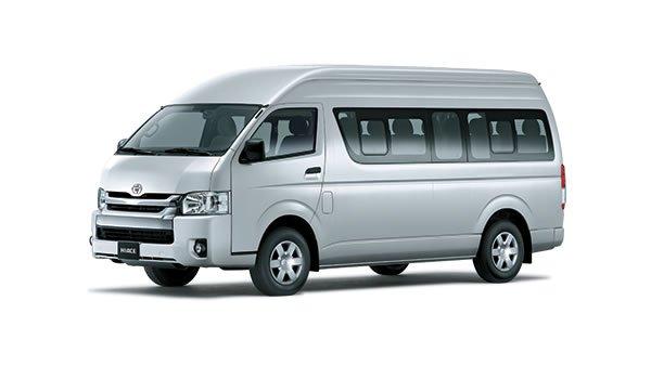 Ngoại thất Toyota Hiace