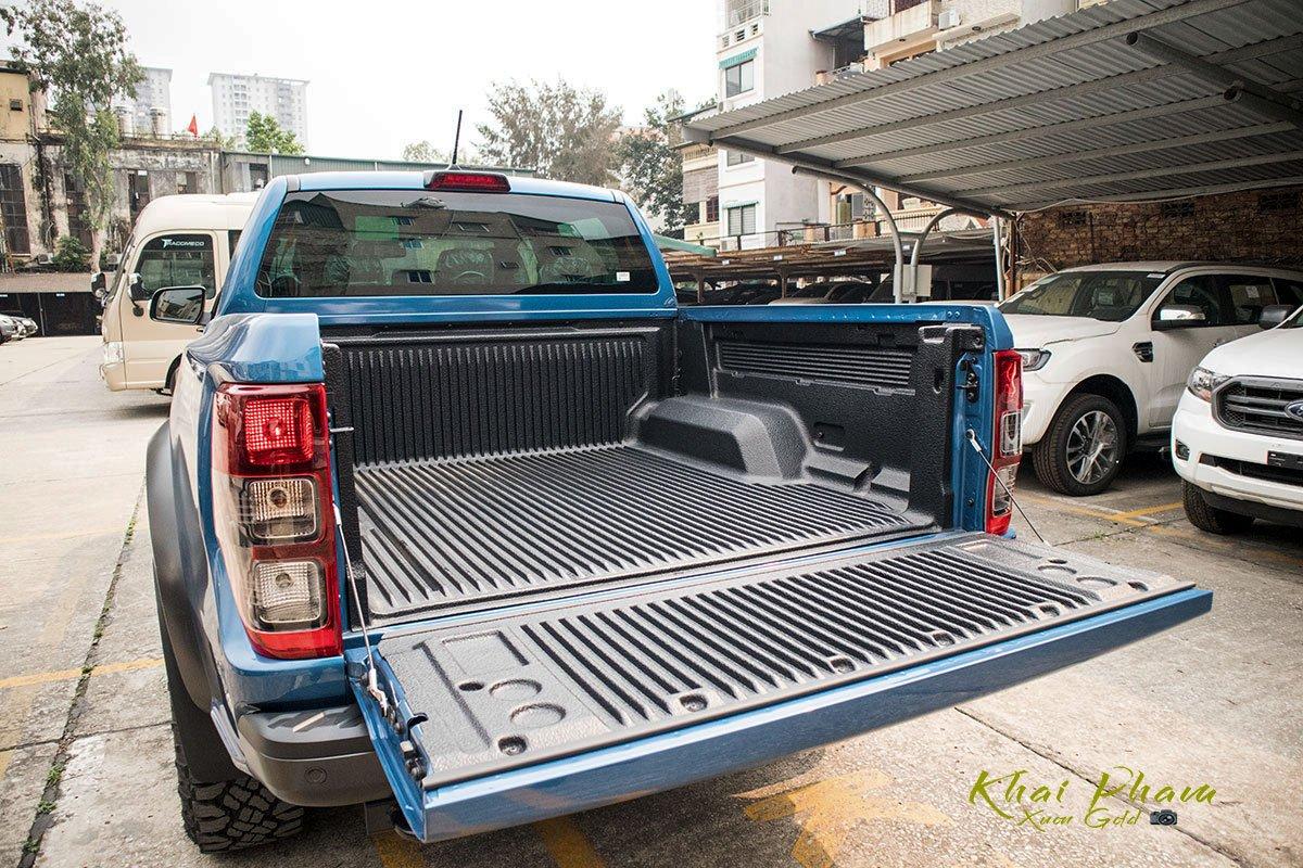 Ảnh chụp thùng xe Ford Ranger Raptor 2020