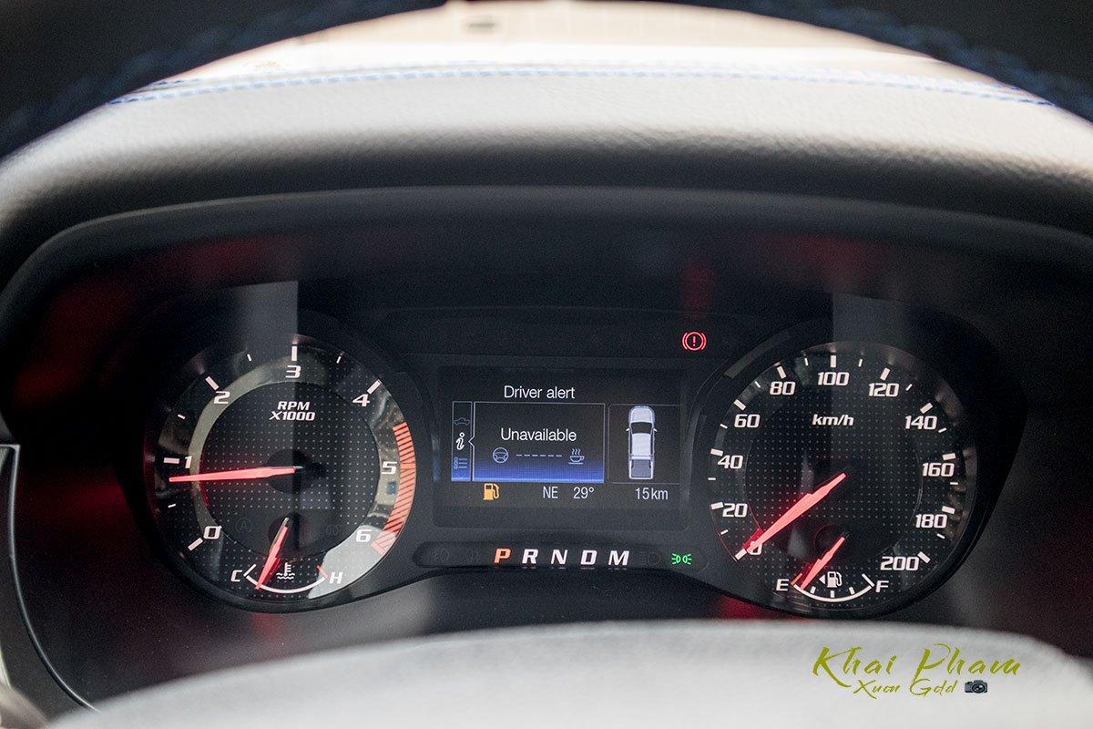 Ảnh chụp đồng hồ xe Ford Ranger Raptor 2020