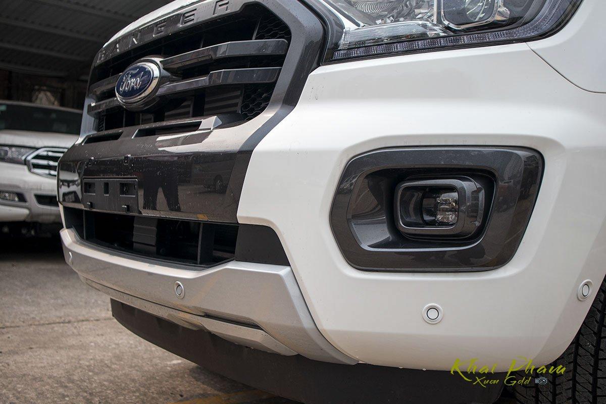 Ảnh chụp cản trước xe Ford Ranger Wildtrak 2020
