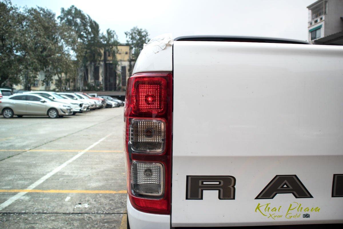 Ảnh chụp đèn hậu xe Ford Ranger Wildtrak 2020