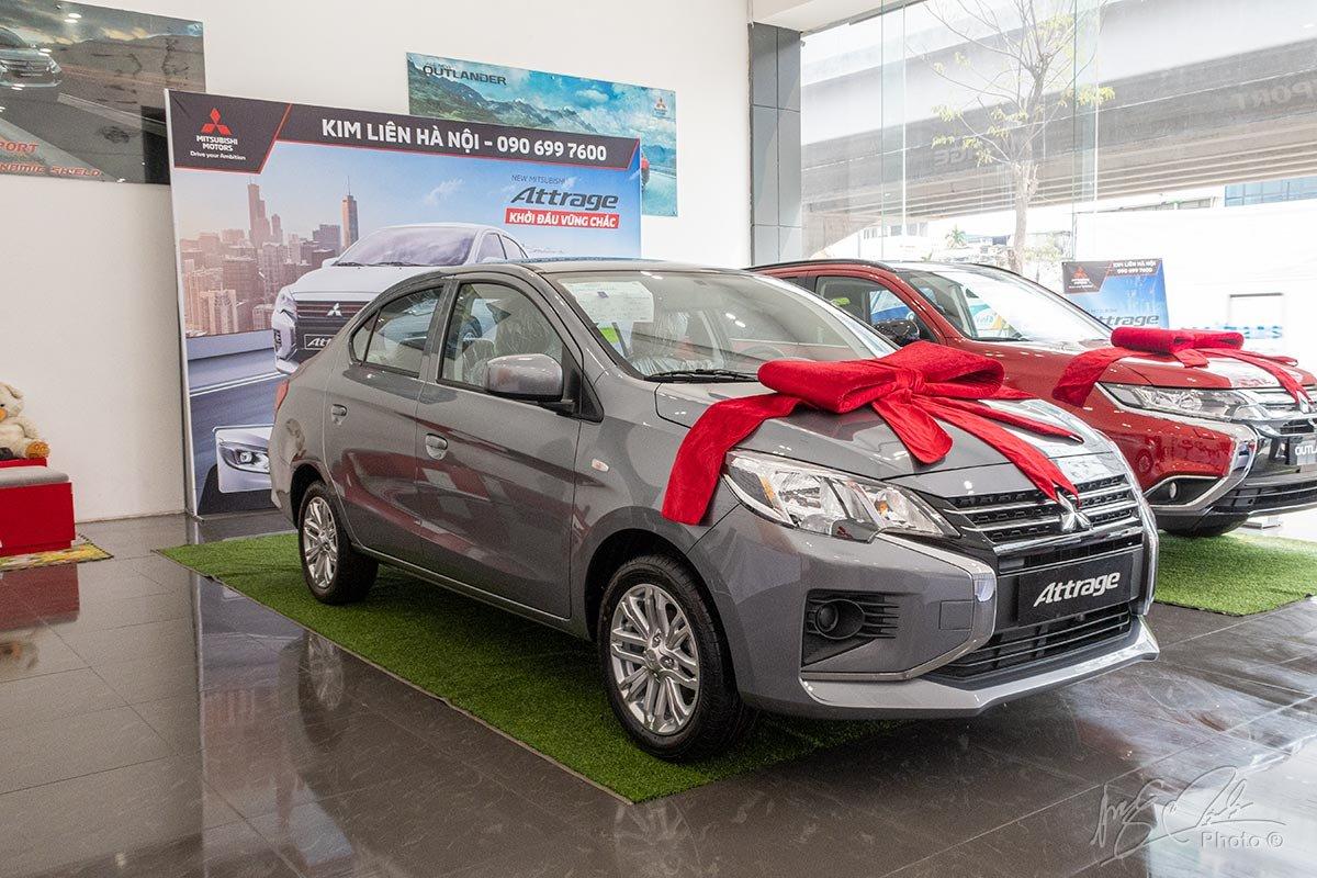 Đánh giá xe Mitsubishi Attrage MT 2020.